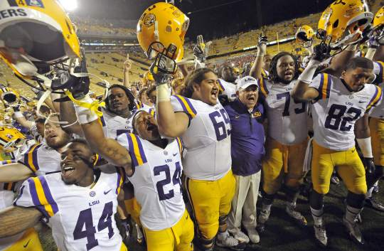 LSU Remains #6 in the new AP Top 25 Poll