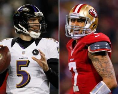 Joe-Flacco-vs-Colin-Kaepernick-Super-Bowl-Betting-Odds-020213L