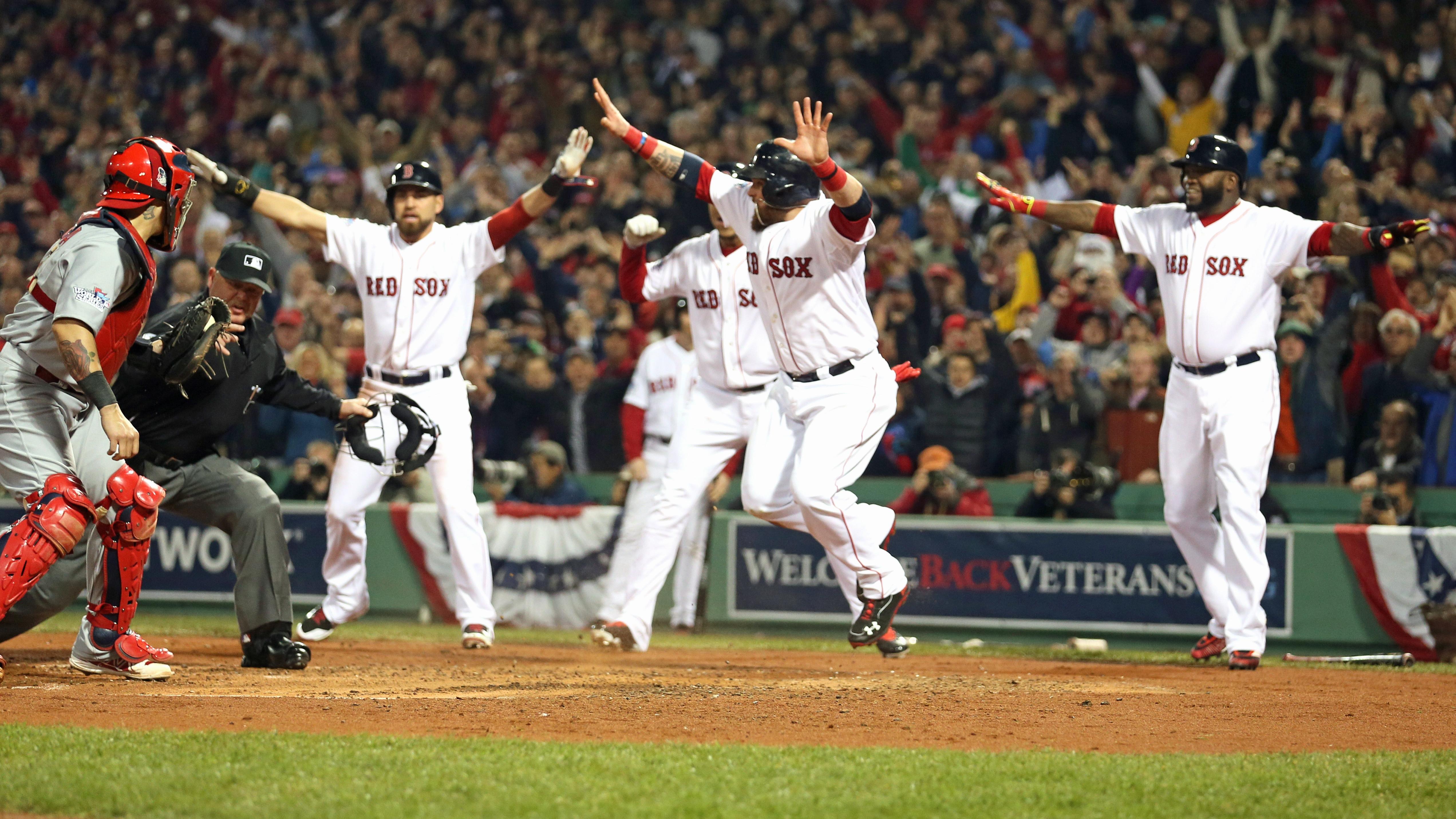 Boston Red Sox World Series Champions, Ortiz Wins MVP ...