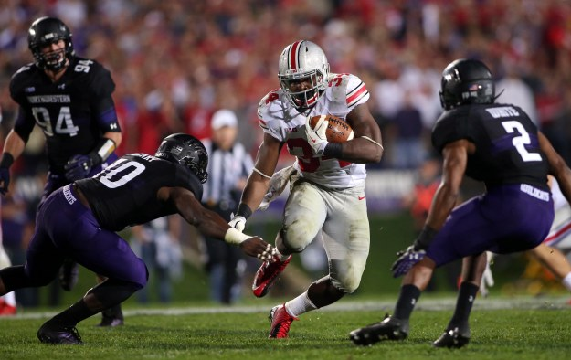 #4 Ohio State Beat #16 Northwestern 40-30 in what was the game of the week.