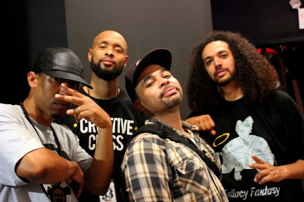 Ale kickin' it with Souls of Mischief