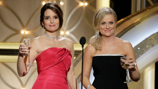 Tina Fey and Amy Poehler host the 71st annual Golden Globe Awards